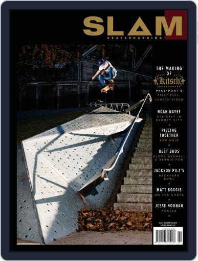 Slam Skateboarding October 1st, 2019 Digital Back Issue Cover
