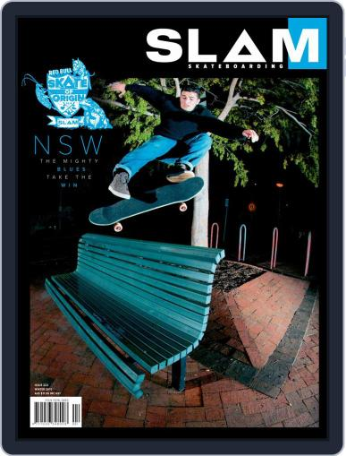 Slam Skateboarding June 1st, 2019 Digital Back Issue Cover
