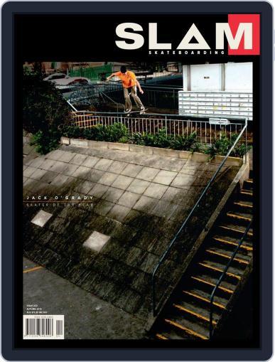 Slam Skateboarding April 1st, 2019 Digital Back Issue Cover
