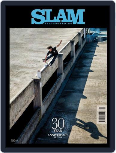 Slam Skateboarding September 1st, 2018 Digital Back Issue Cover