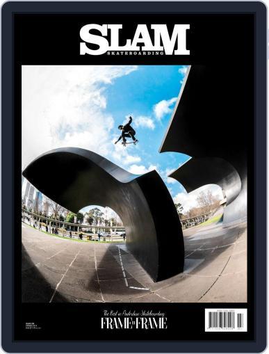 Slam Skateboarding July 1st, 2018 Digital Back Issue Cover