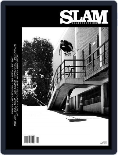 Slam Skateboarding May 1st, 2018 Digital Back Issue Cover