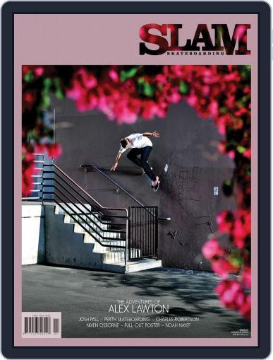 Slam Skateboarding November 1st, 2017 Digital Back Issue Cover