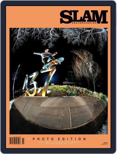 Slam Skateboarding June 1st, 2017 Digital Back Issue Cover
