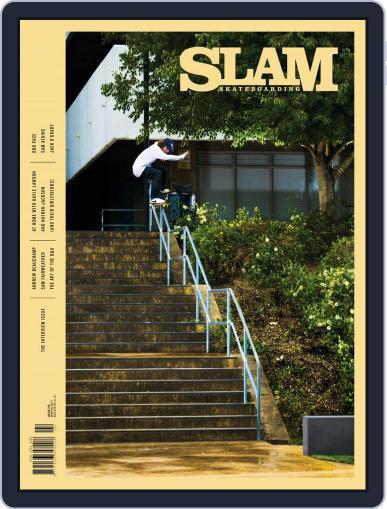 Slam Skateboarding April 1st, 2017 Digital Back Issue Cover