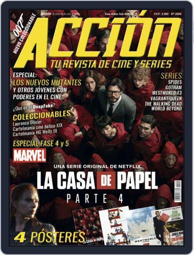Accion Cine-video (Digital) April 1st, 2020 Issue Cover
