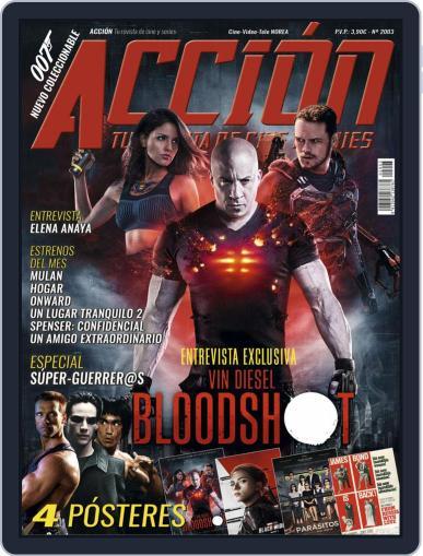 Accion Cine-video (Digital) March 1st, 2020 Issue Cover