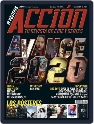Accion Cine-video (Digital) January 1st, 2020 Issue Cover