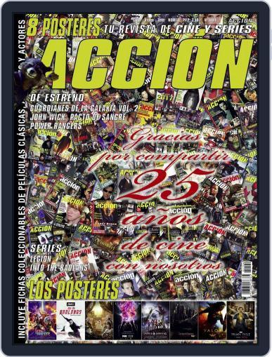 Accion Cine-video (Digital) April 1st, 2017 Issue Cover