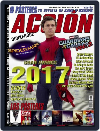Accion Cine-video (Digital) January 1st, 2017 Issue Cover