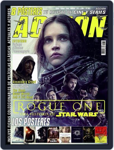 Accion Cine-video (Digital) December 1st, 2016 Issue Cover