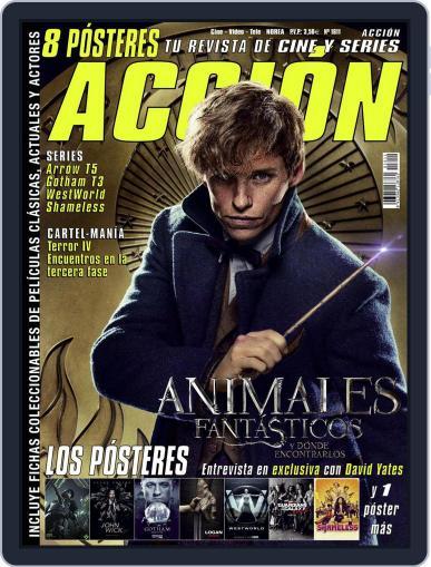 Accion Cine-video (Digital) November 1st, 2016 Issue Cover