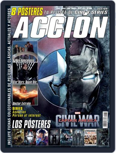 Accion Cine-video (Digital) May 1st, 2016 Issue Cover