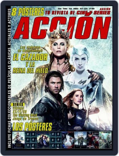 Accion Cine-video (Digital) April 1st, 2016 Issue Cover