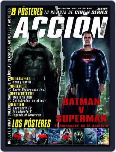 Accion Cine-video (Digital) March 1st, 2016 Issue Cover