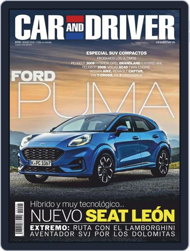 Car and Driver - España (Digital) March 1st, 2020 Issue Cover