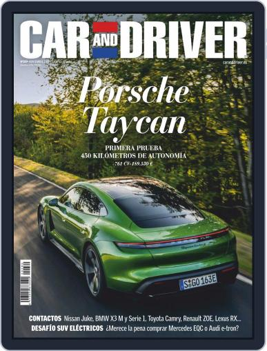 Car and Driver - España (Digital) November 1st, 2019 Issue Cover