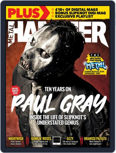 Metal Hammer UK (Digital) July 1st, 2020 Issue Cover