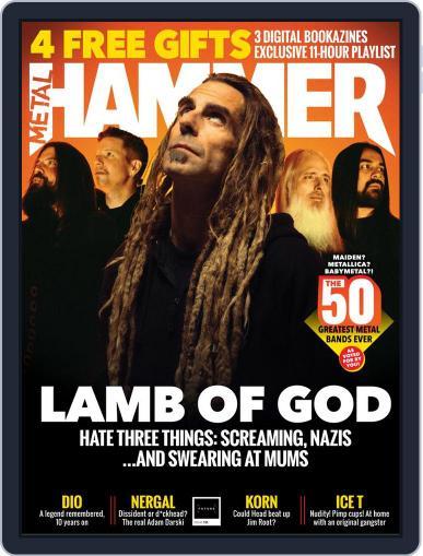 Metal Hammer UK (Digital) June 1st, 2020 Issue Cover