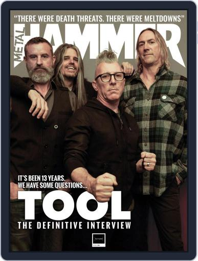 Metal Hammer UK (Digital) September 1st, 2019 Issue Cover
