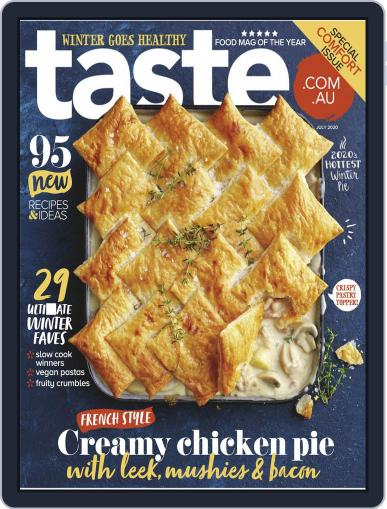 Taste.com.au (Digital) July 1st, 2020 Issue Cover