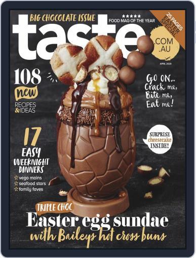 Taste.com.au (Digital) April 1st, 2020 Issue Cover