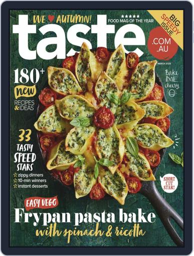 Taste.com.au (Digital) March 1st, 2020 Issue Cover
