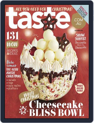 Taste.com.au (Digital) December 1st, 2019 Issue Cover