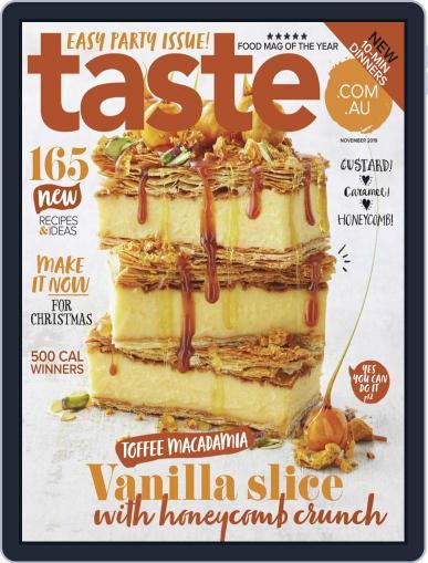 Taste.com.au (Digital) November 1st, 2019 Issue Cover