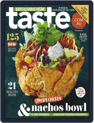 Taste.com.au (Digital) October 1st, 2019 Issue Cover