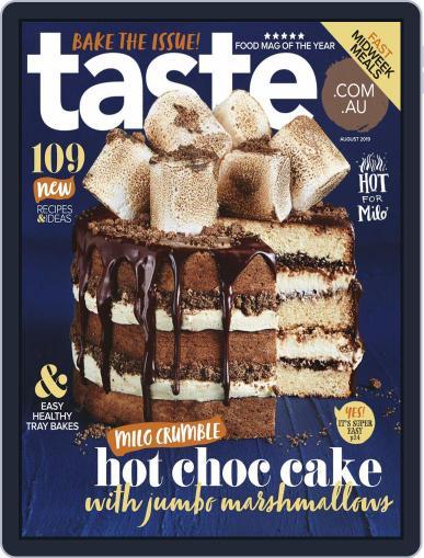 Taste.com.au (Digital) August 1st, 2019 Issue Cover