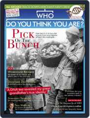 Who Do You Think You Are? (Digital) Subscription October 1st, 2019 Issue