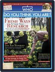 Who Do You Think You Are? (Digital) Subscription March 1st, 2019 Issue