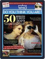 Who Do You Think You Are? (Digital) Subscription January 1st, 2019 Issue