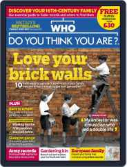 Who Do You Think You Are? (Digital) Subscription May 1st, 2018 Issue