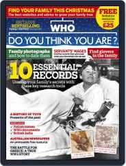 Who Do You Think You Are? (Digital) Subscription December 1st, 2017 Issue
