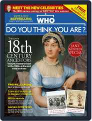 Who Do You Think You Are? (Digital) Subscription August 1st, 2017 Issue