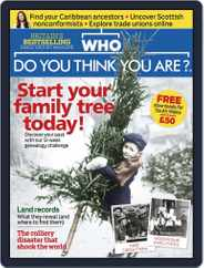 Who Do You Think You Are? (Digital) Subscription December 1st, 2016 Issue