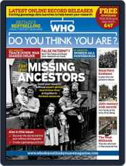 Who Do You Think You Are? (Digital) Subscription April 12th, 2016 Issue