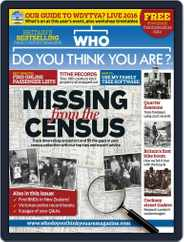 Who Do You Think You Are? (Digital) Subscription March 15th, 2016 Issue