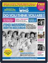 Who Do You Think You Are? (Digital) Subscription February 16th, 2016 Issue