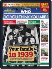 Who Do You Think You Are? (Digital) Subscription December 1st, 2015 Issue