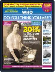 Who Do You Think You Are? (Digital) Subscription May 8th, 2015 Issue