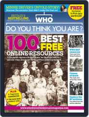Who Do You Think You Are? (Digital) Subscription September 2nd, 2013 Issue