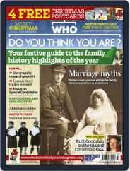 Who Do You Think You Are? (Digital) Subscription November 27th, 2012 Issue