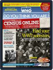 Who Do You Think You Are? (Digital) Subscription October 28th, 2012 Issue