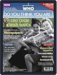 Who Do You Think You Are? (Digital) Subscription May 16th, 2011 Issue