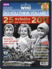 Who Do You Think You Are? (Digital) Subscription November 24th, 2010 Issue