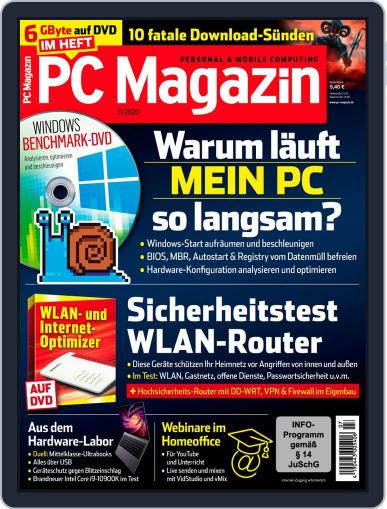PC Magazin (Digital) July 1st, 2020 Issue Cover