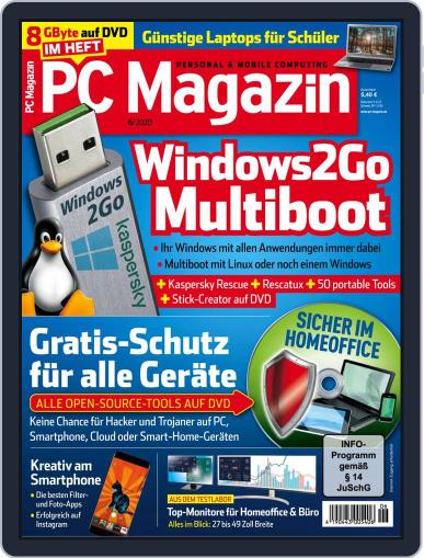 PC Magazin (Digital) June 1st, 2020 Issue Cover